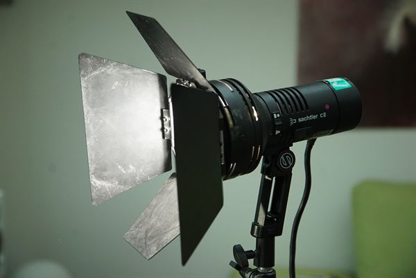 Sachtler 200W MSR lamp with ballast and PSU
