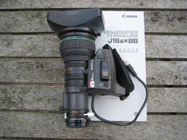 Canon J15a x 8B4 IRS Sx12 Lens