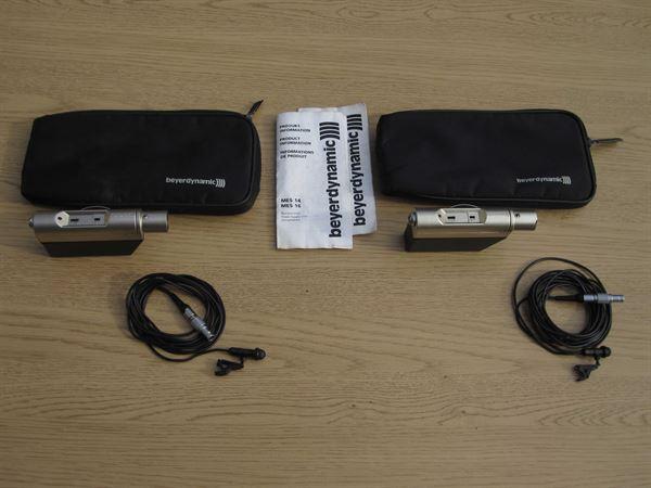Beyer MCE 5.11 lavalier mics