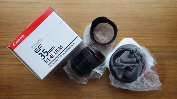 Canon L series 35mm f/1.4 (mark i)