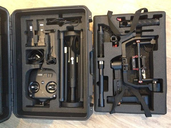 Ronin - M  Gimbal with extra battery and Peli Case