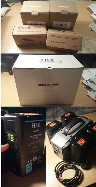 IDX Endura E-HL10DS and VL4S Charger + original packaging