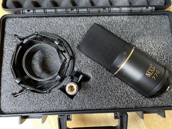 MXL 770 Voiceover mic
