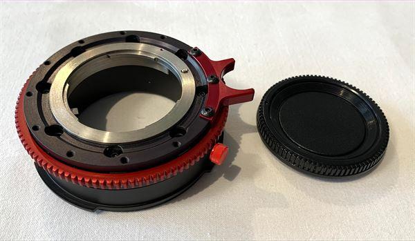 Optitek ProLock Nikon F to Sony FZ lens mount adaptor