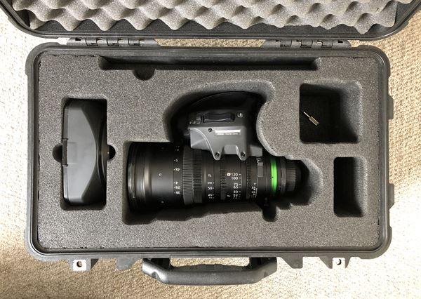 Fujinon XK6 4K PL 20-120mm T3.5 Cabrio Cine Lens