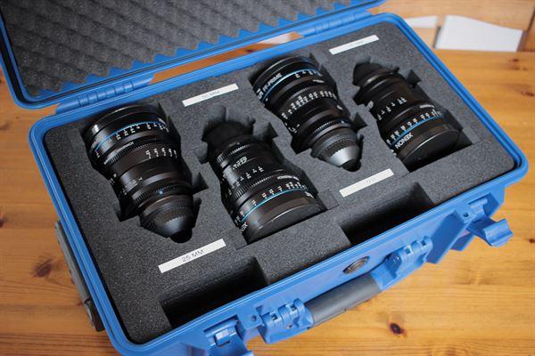 Schneider Kreuznach Xenon Prime Lense Set