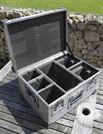 Aluminium Case - Flight Case - 48 x 34 x 24 cm deep