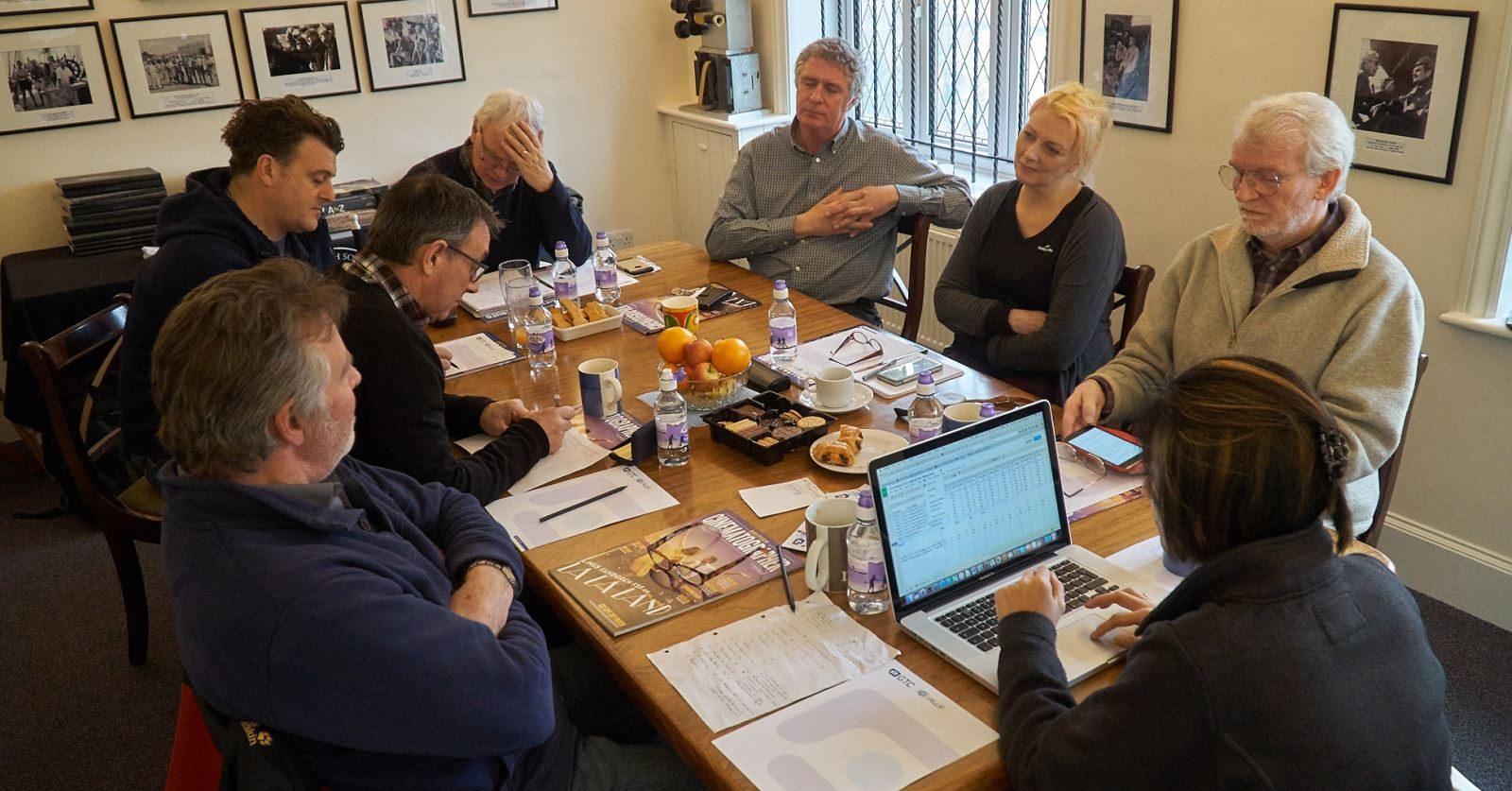GTC Awards judges deliberating over the 2017 nominations – with thanks to Max Hodgetts for the great photos