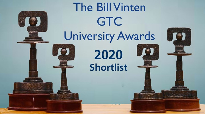 Bill Vinten GTC University Awards 2020 shortlist