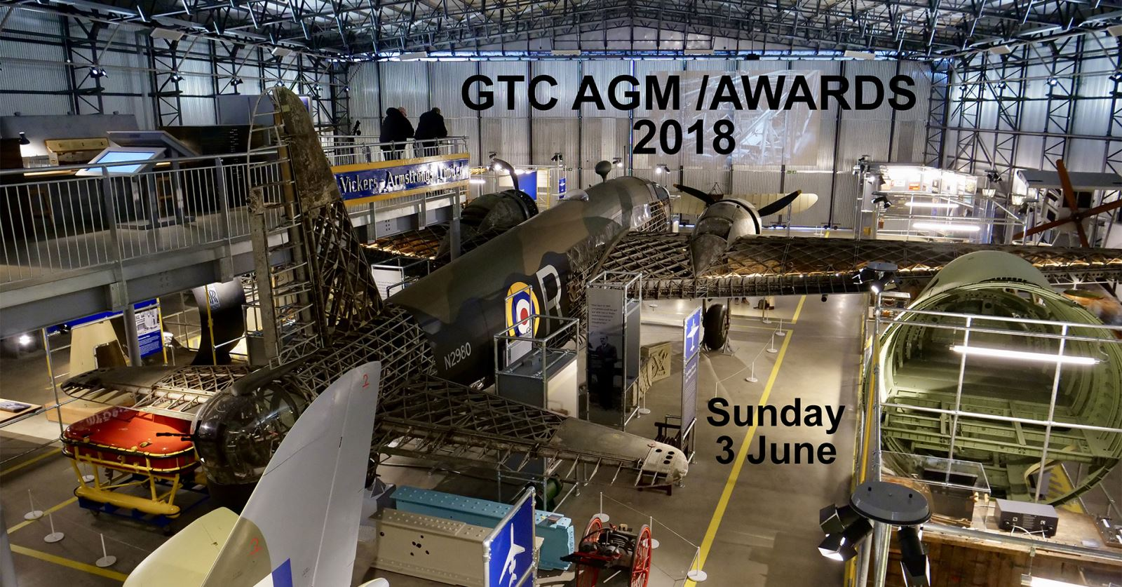 Book your tickets now for the a great day out at Brooklands Museum for the GTC AGM and Awards 2018