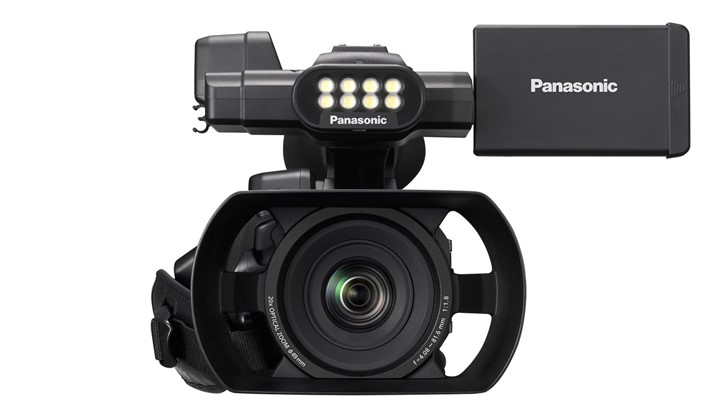 New palm camcorder from Panasonic