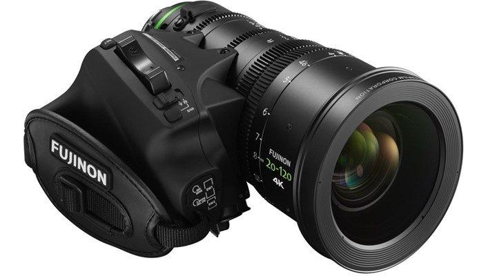 New Fujinon PL 20-120mm Cabrio lens to be introduced at NAB 2016