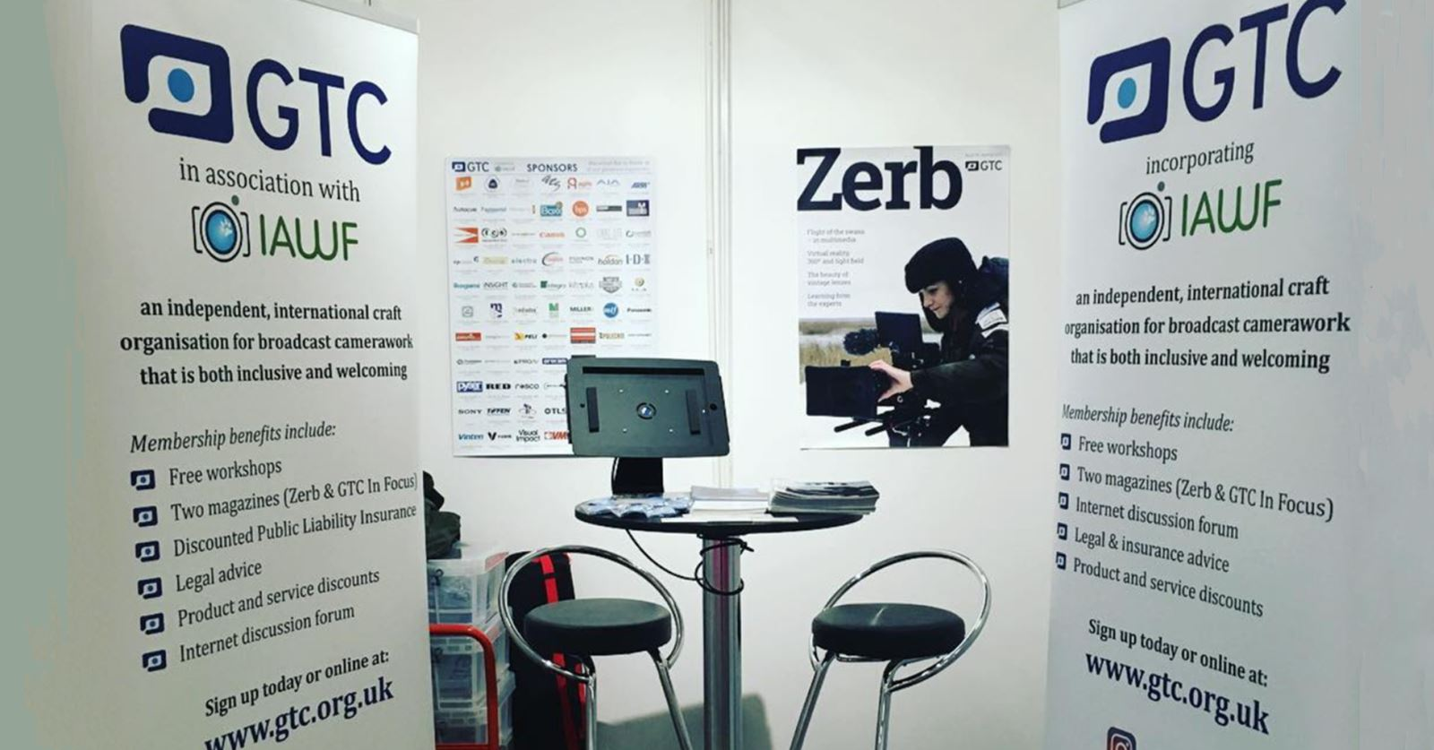 The GTC has been at the Media Production Show this week
