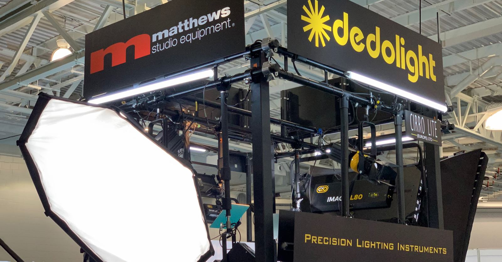 Two new GTC sponsors in one! Both Matthews Studio Equipment and Dedolight have just joined at GTC sponsor companies