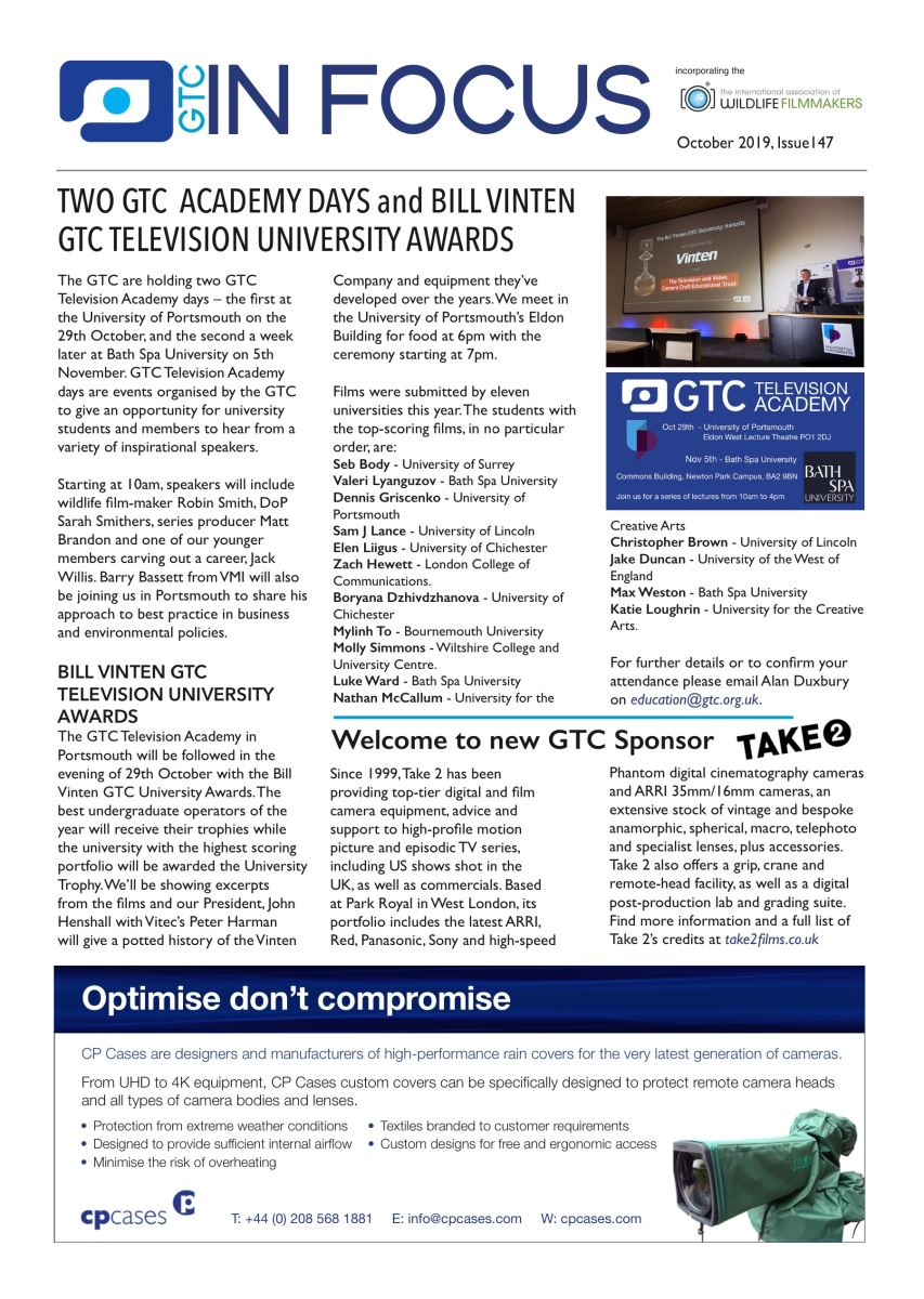 GTC In Focus Issue 144