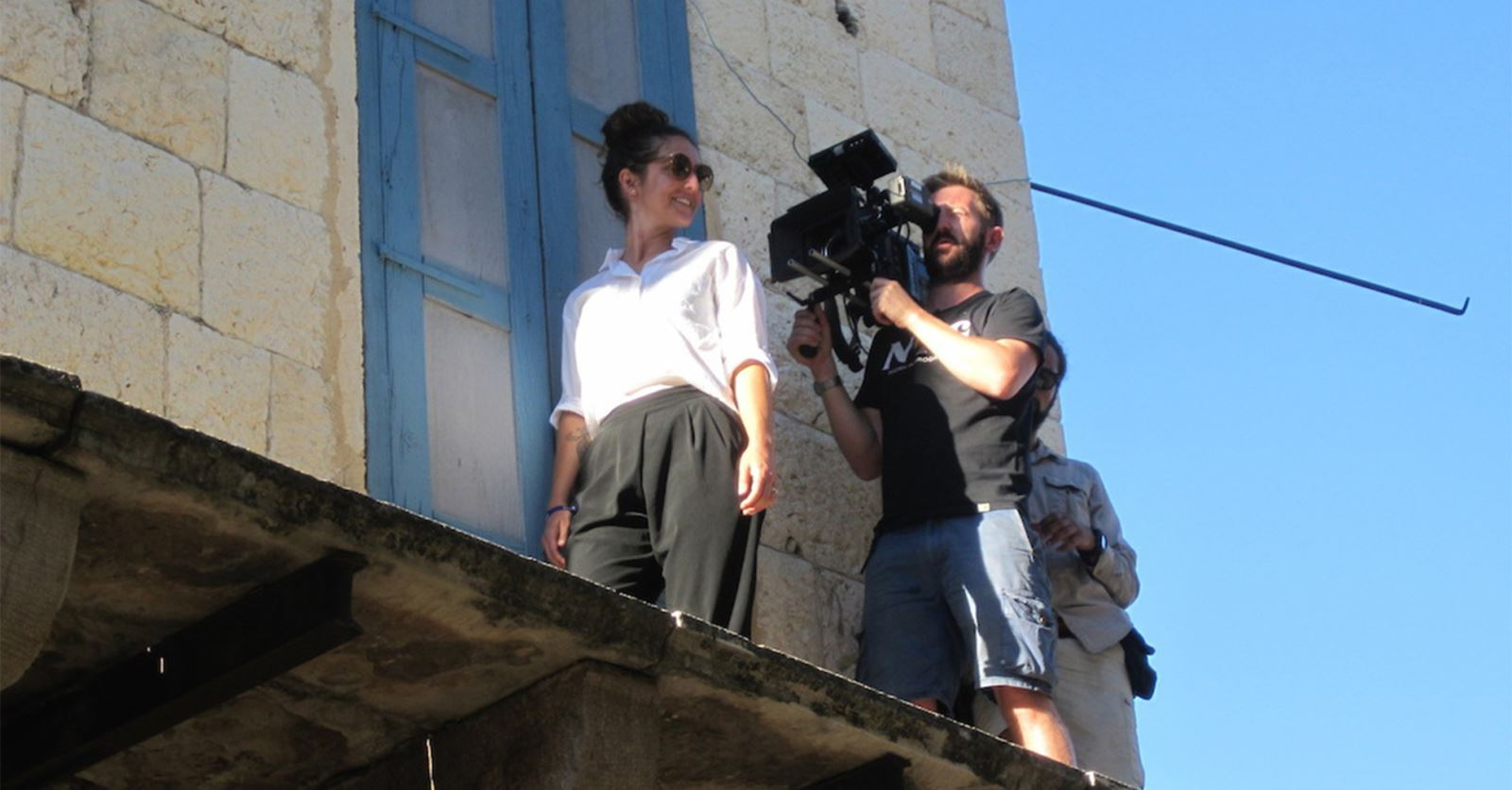New GTC member: Alex Took fliming on the rooftops of Beirut for a Turner commercial 'Live, Love, Lebanon'