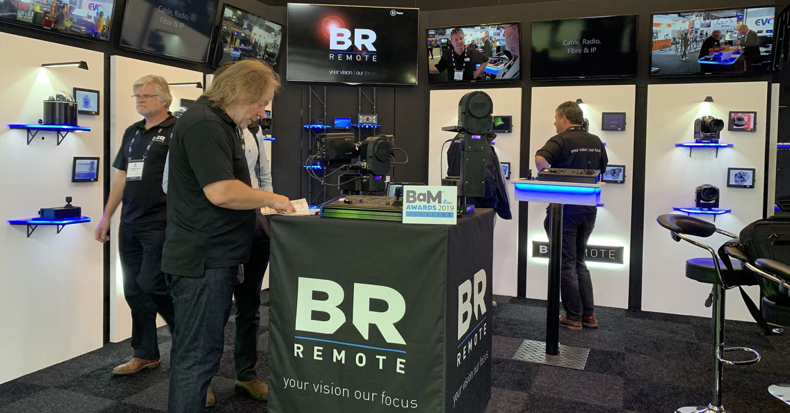 """Your vision, our focus"" – the mission statement for GTC sponsor BR Remote at IBC2019"