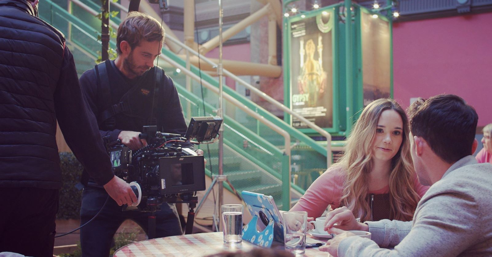 Welcome to new GTC member Jamie Kennerley - here shooting an NHS 'Stop Smoking' campaign on an ARRI ALEXA