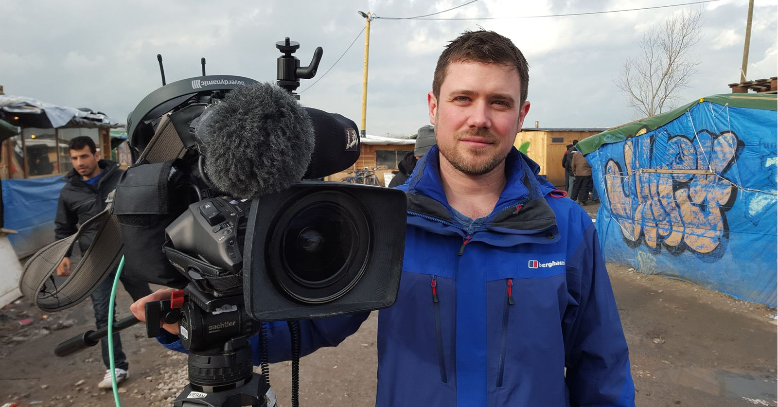 Welcome to new GTC member Kieran Tynan - here covering the migrant story in the Calais 'jungle' for BBC World Service