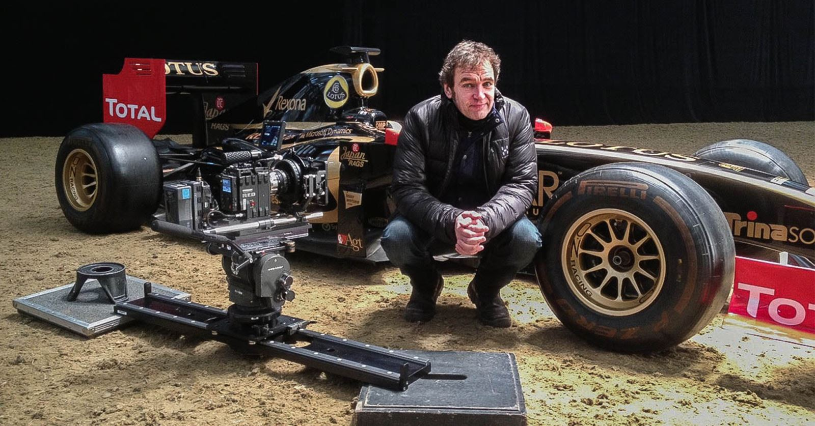 Welcome to new GTC member Mark Evans: filming How to Win The Grand National (C4) - with racehorses equated to F1 cars!