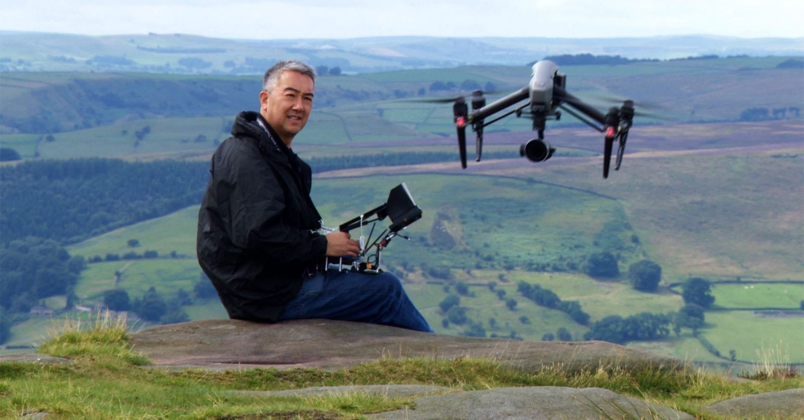 Welcome to new GTC member aerial photography expert Michael Kheng - filiming with a DJI Inspire2 in the Peak District