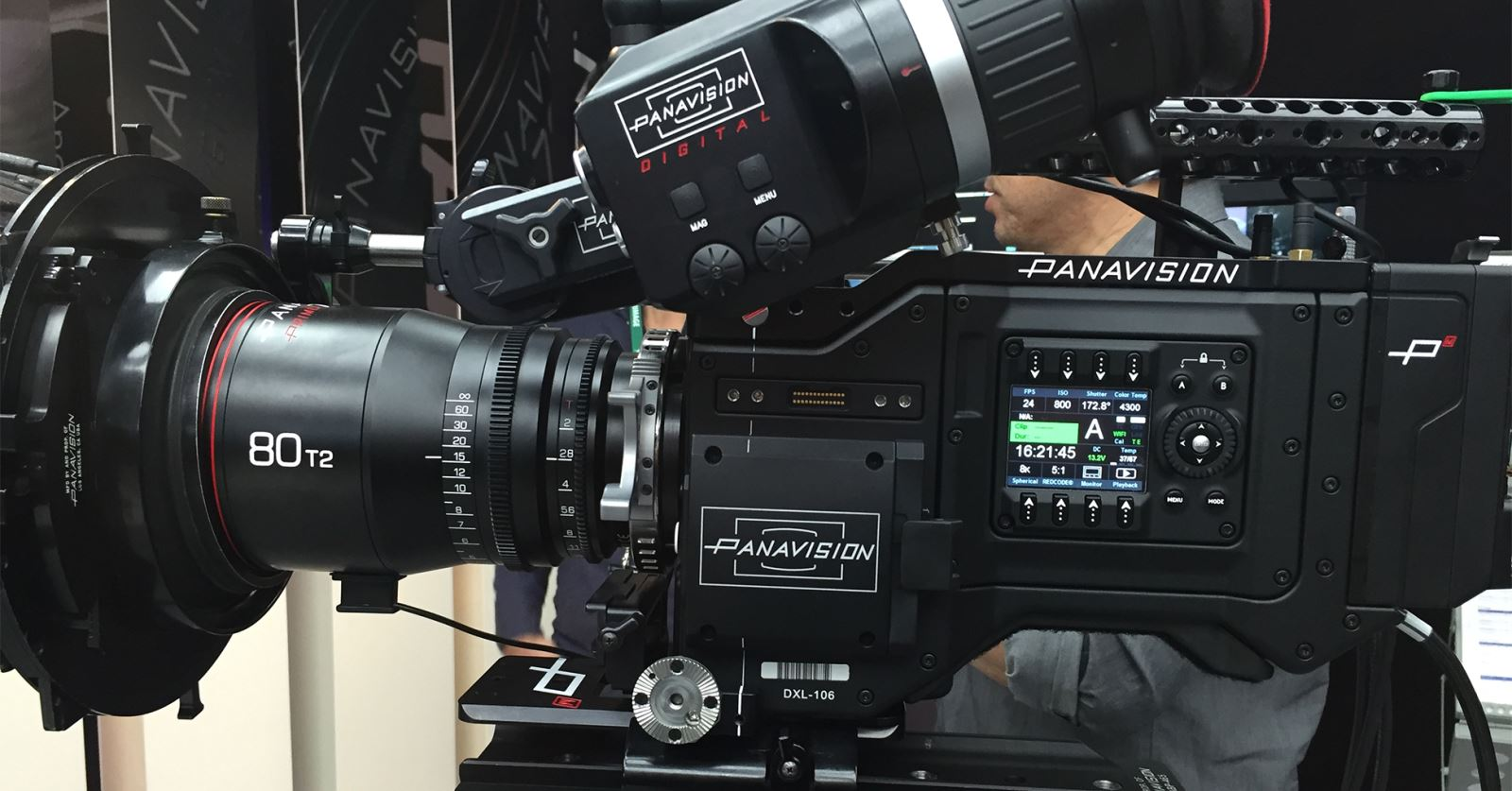The new Millennium DXL camera from Panavision with RED body and sensor and colour science from Light Iron