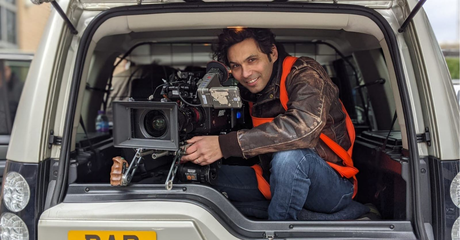 Not the most comfortable ride! Welcome to new GTC member Lighting Cameraman/DoP Quin Jessop