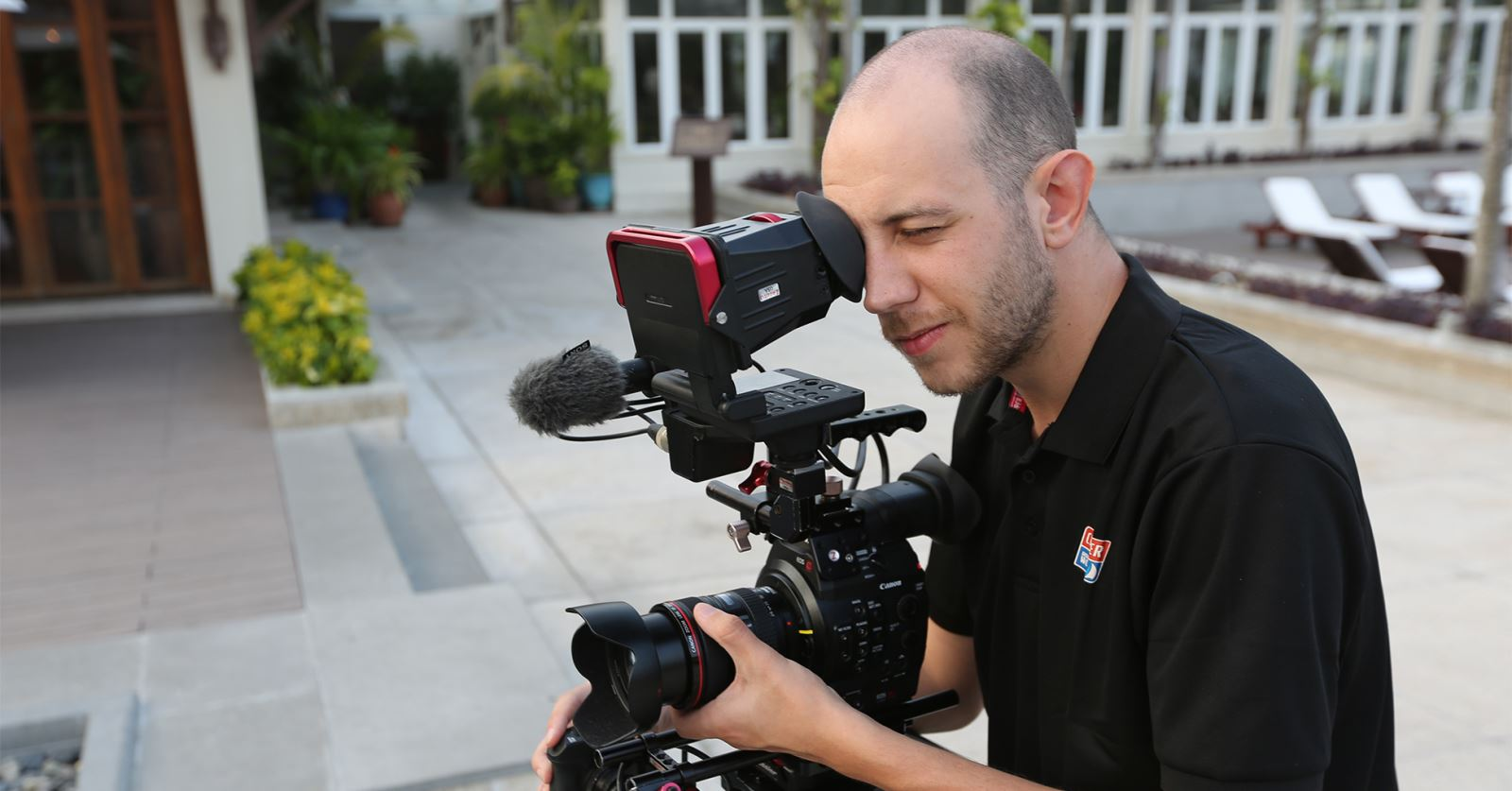 New GTC member: Camera op Tom Cressey shooting in Vietnam for the Clipper Round the World Yacht Race