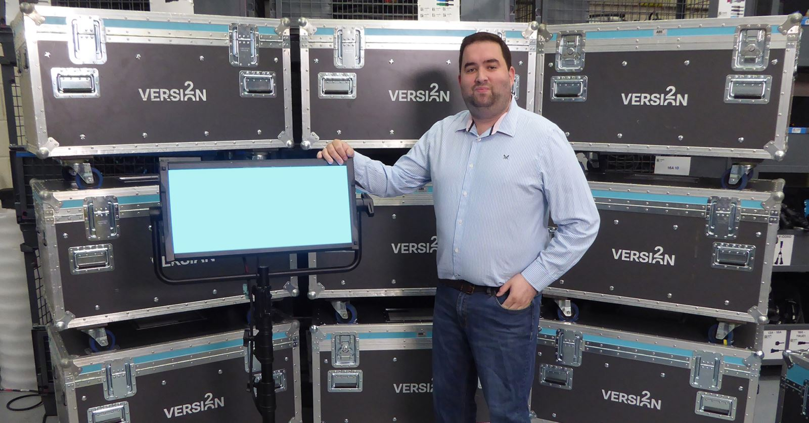 Welcome to new GTC sponsor member Nick Edwards of Version 2 Lights