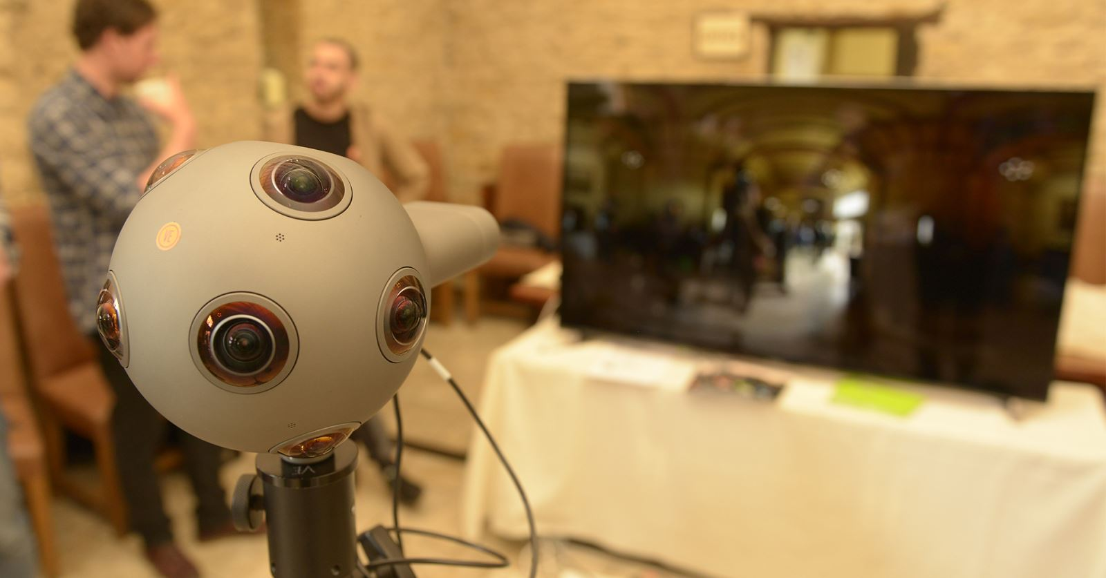 The 360 Nokia Ozo provided by GTC sponsors Video Europe attracted lots of attention