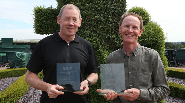 GTC Awards for Excellence presented at Wimbledon