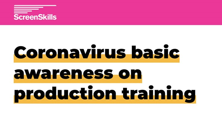 ScreenSkills free coronavirus awareness training