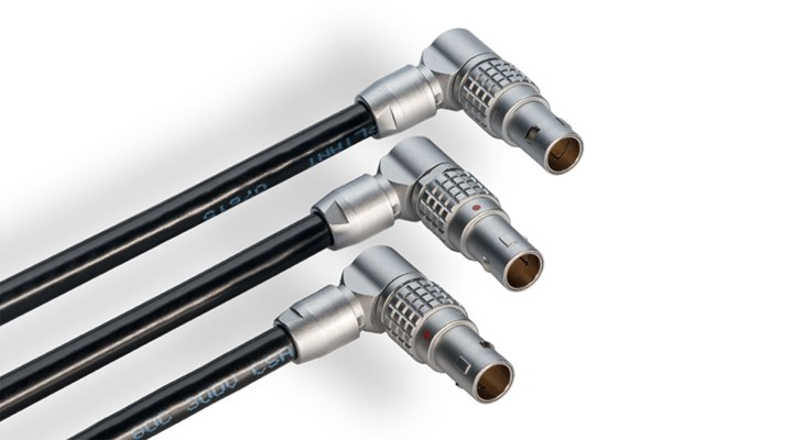 LEMO introduces ingenious right-angled connectors