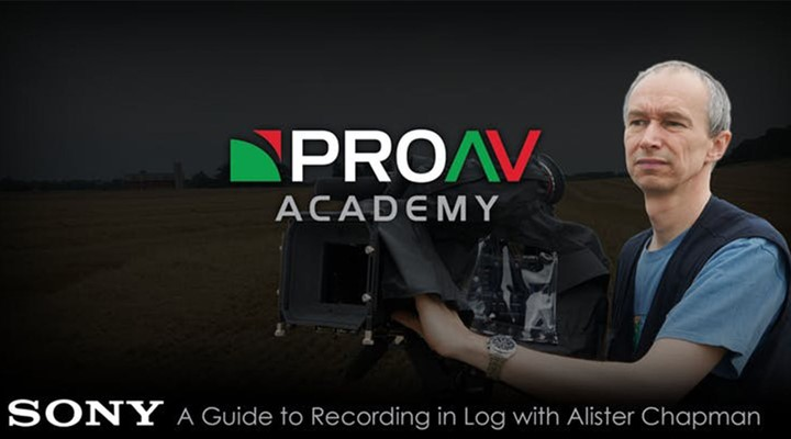 ProAV Academy: A Guide to Recording in Log with Alister Chapman