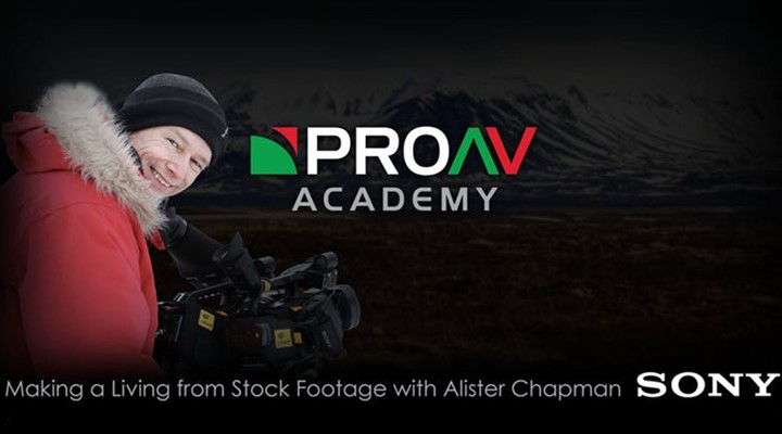 ProAV Academy: Making a Living from Stock Footage