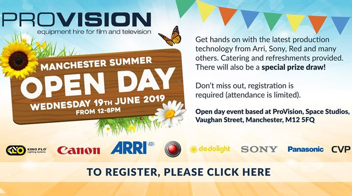 Provision Manchester Summer Open Day