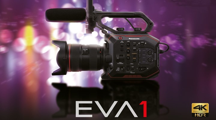 More details announced about the new Panasonic AU-EVA1 camera