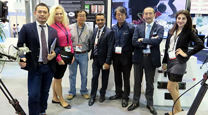 Ikegami reports strong Interest in 4K UHD and 8K SHV at CABSAT 2016