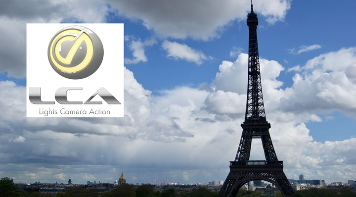 LCA Lights Camera Action to launch in Paris, France