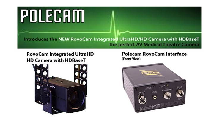 Polecam introduce new medical theatre camera