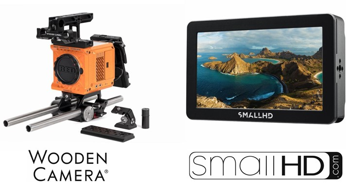 New accessories for the RED KOMODO from Wooden Camera and SmallHD