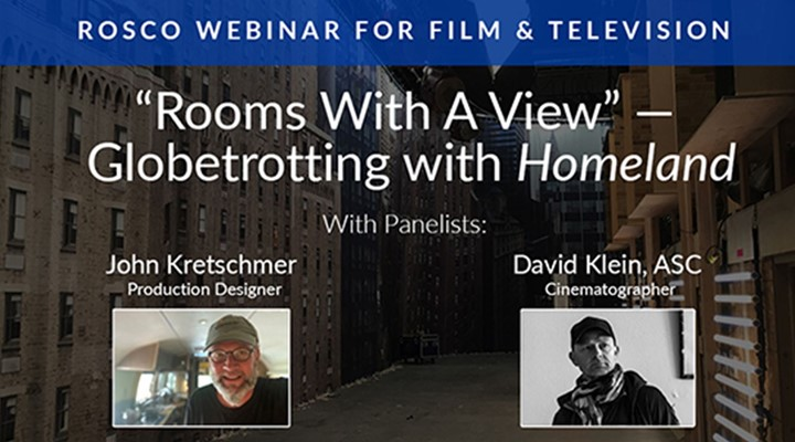 ROSCO webinar: 'Rooms with a View' – Globetrotting with Homeland