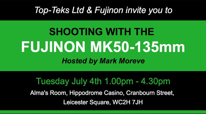Shooting with the Fujinon MK50–135mm