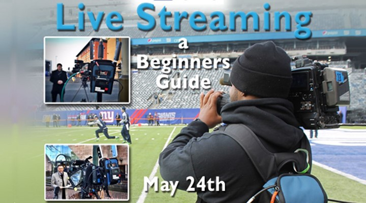 GTC Workshop: Live Streaming – A Beginners