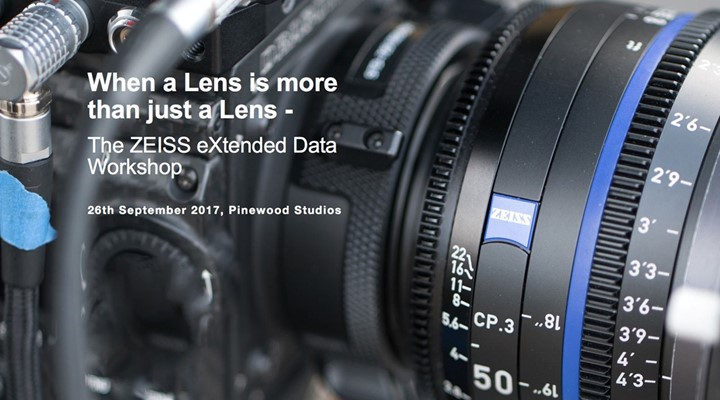 The ZEISS eXtended Data Workshop